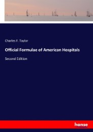 Official Formulae of American Hospitals
