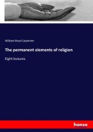 The permanent elements of religion