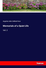 Memorials of a Quiet Life