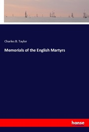 Memorials of the English Martyrs