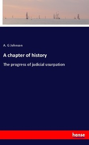 A chapter of history
