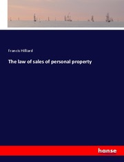 The law of sales of personal property