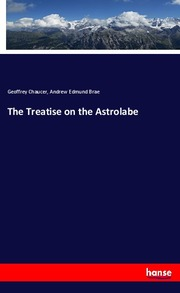 The Treatise on the Astrolabe - Cover