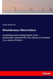 Miscellaneous Observations