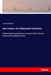 War Letters of a Disbanded Volunteer - Cover