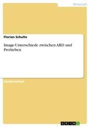 Image-Unterschiede zwischen ARD und ProSieben