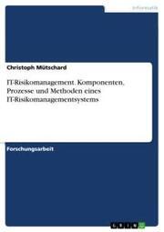 IT-Risikomanagement. Komponenten, Prozesse und Methoden eines IT-Risikomanagementsystems