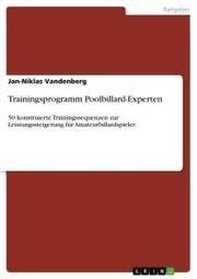 Trainingsprogramm Poolbillard-Experten