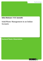 Solid Waste Management in an Indian Scenario