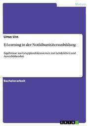 E-Learning in der Notfallsanitäterausbildung