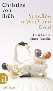 Schwäne in Weiß und Gold - Cover