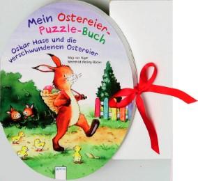 Mein Ostereier-Puzzle-Buch - Oskar Hase und die verschwundenen Ostereier