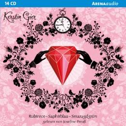 Rubinrot/Saphirblau/Smaragdgrün