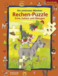 Rechen-Puzzle Erste Zahlen und Mengen