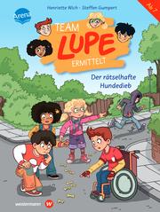 TEAM LUPE ermittelt - Der rätselhafte Hundedieb - Cover