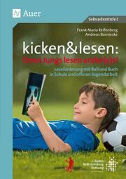 kicken & lesen - Denn Jungs lesen ander(e)s