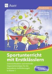 Sportunterricht mit Erstklässlern