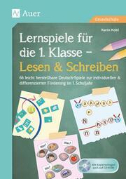 Lernspiele für die 1. Klasse - Lesen & Schreiben