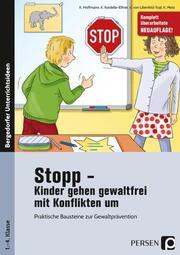 Stopp - Kinder gehen gewaltfrei mit Konflikten um - Cover