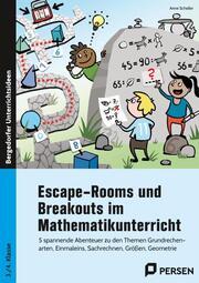 Escape-Rooms und Breakouts im Mathematikunterricht