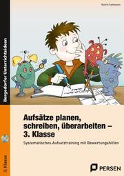 Aufsätze planen, schreiben, überarbeiten - 3. Klasse