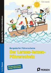 Der Lernen-lernen-Führerschein - 3./4. Klasse