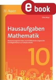 Hausaufgaben Mathematik Klasse 10