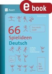 66 Spielideen Deutsch
