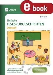 Einfache Lesespurgeschichten Deutsch