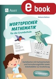 Wortspeicher Mathematik für die Grundschule