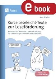 Kurze Leseleicht-Texte zur Leseförderung