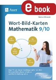Wort-Bild-Karten Mathematik Klassen 9-10