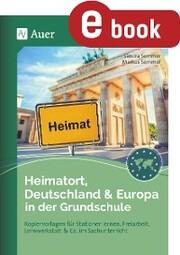 Heimatort, Deutschland & Europa in der Grundschule