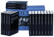 Goethe Werke Hamburger Ausgabe