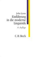 Einführung in die moderne Linguistik