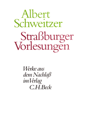 Straßburger Vorlesungen