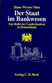 Der Staat im Bankwesen