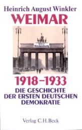 Weimar 1918-1933