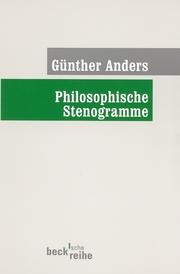 Philosophische Stenogramme