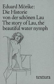 Die Historie von der schönen Lau. The story of Lau, the beautiful water nymph