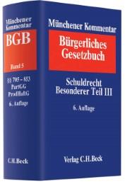 Münchener Kommentar zum Bürgerlichen Gesetzbuch 5