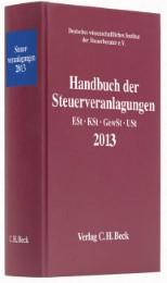 Handbuch der Steuerveranlagungen 2013