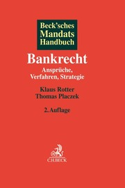 Beck'sches Mandatshandbuch Bankrecht