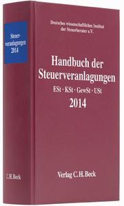 Handbuch der Steuerveranlagungen 2014