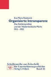 Organisierte Intransparenz