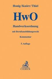 Handwerksordnung/HwO