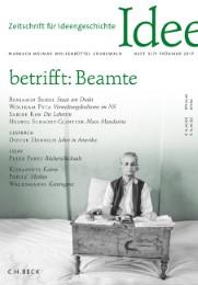 Zeitschrift für Ideengeschichte Heft XI/1 Frühjahr 2017
