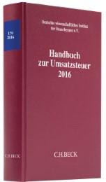 Handbuch zur Umsatzsteuer 2016