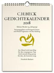 C.H.Beck Gedichtekalender: Kleiner Bruder 2018