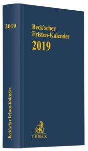 Beck'scher Fristen-Kalender 2019
